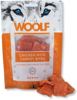 Woolf Snack - chicken with carrot bites