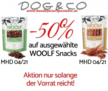 AKTION  - Woolf Snack's