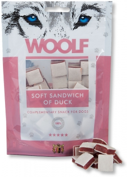 Woolf Snack - soft sandwich of duck