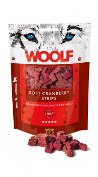 Woolf Snack - soft cranberry strips
